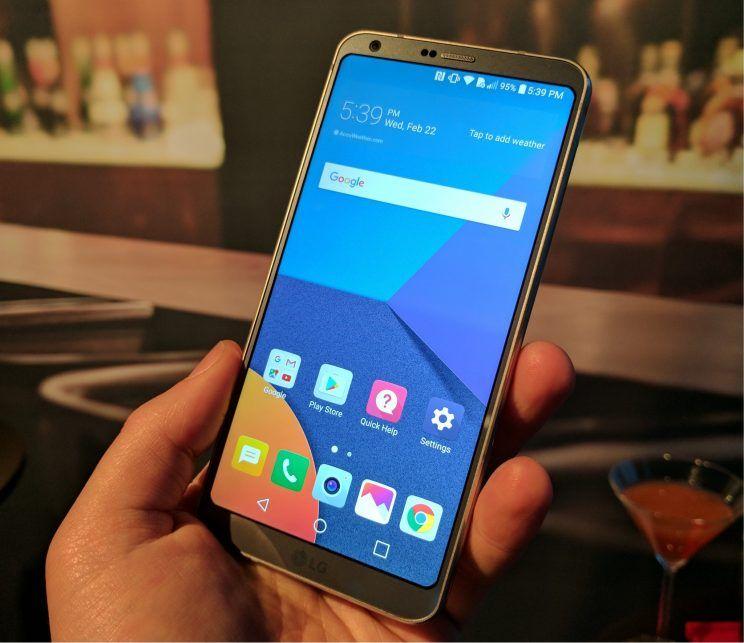 LG G6 |  in arrivo oltre 100 giochi |  app e contenuti ottimizzati per lo schermo 18 | 9