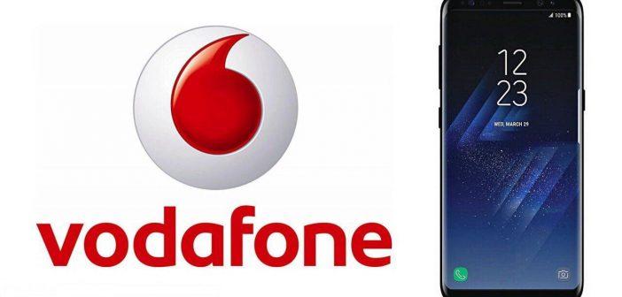 Vodafone: Samsung Galaxy S8 e S8+ a partire da 10 euro ogni 4 settimane con 2 Giga Inclusi