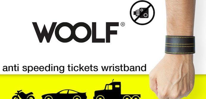 Woolf: il braccialetto che segnala gli autovelox