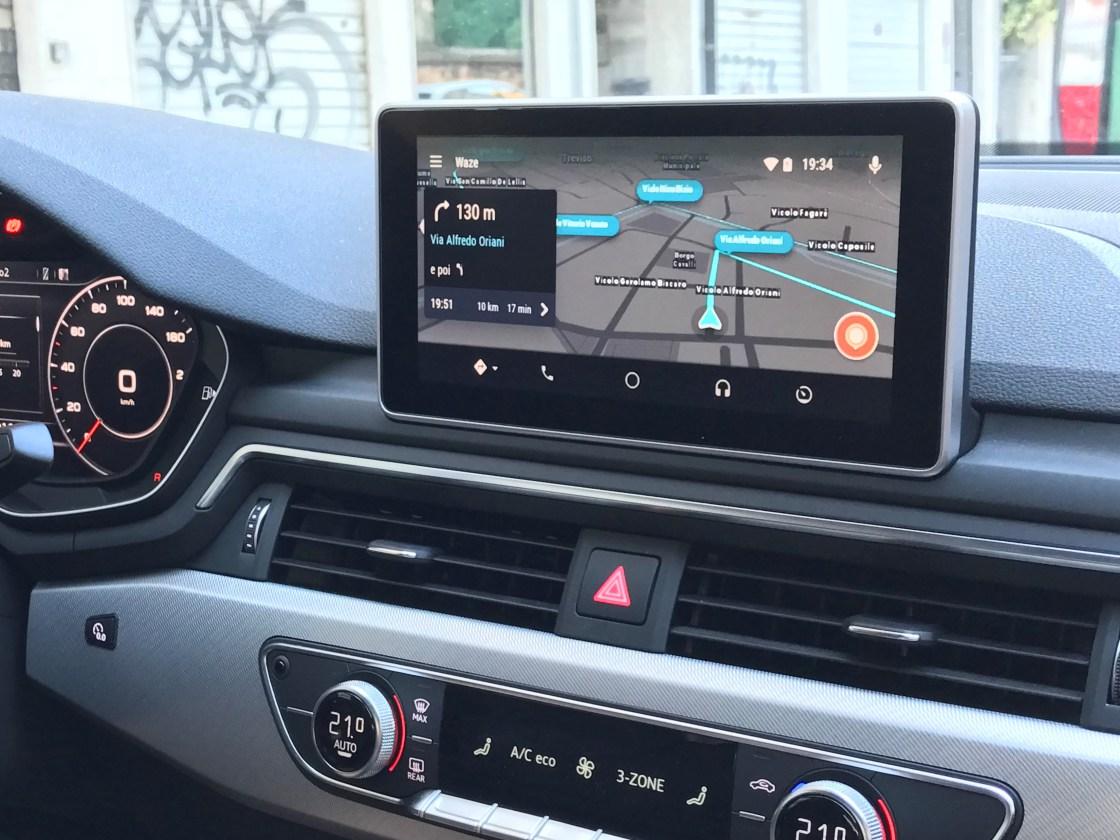 waze il navigatore salva automobilisti arriva su android auto in beta come utilizzare ware su. Black Bedroom Furniture Sets. Home Design Ideas