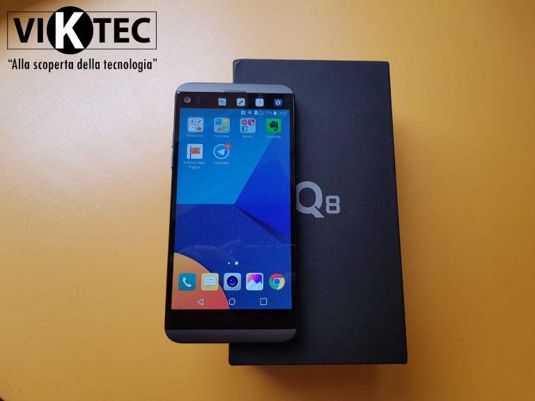 Recensione LG Q8 |  smartphone con doppio schermo