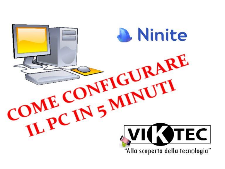 Come configurare il computer in 5 minuti con Ninite