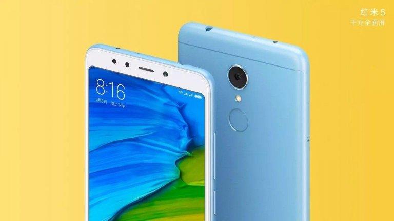Xiaomi Redmi 5 e Redmi 5 Plus ufficiali |  prezzo basso e display 18 | 9