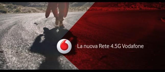 """Vodafone: attiva da domani la nuova rete """"Giga Network 4.5G"""""""