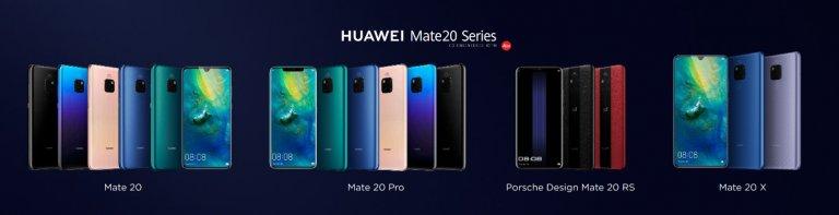 Huawei presenta Mate 20 Series