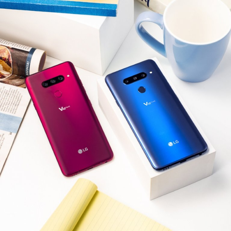 LG V40 THINQ: DISPONIBILE IN ITALIA DA FINE GENNAIO