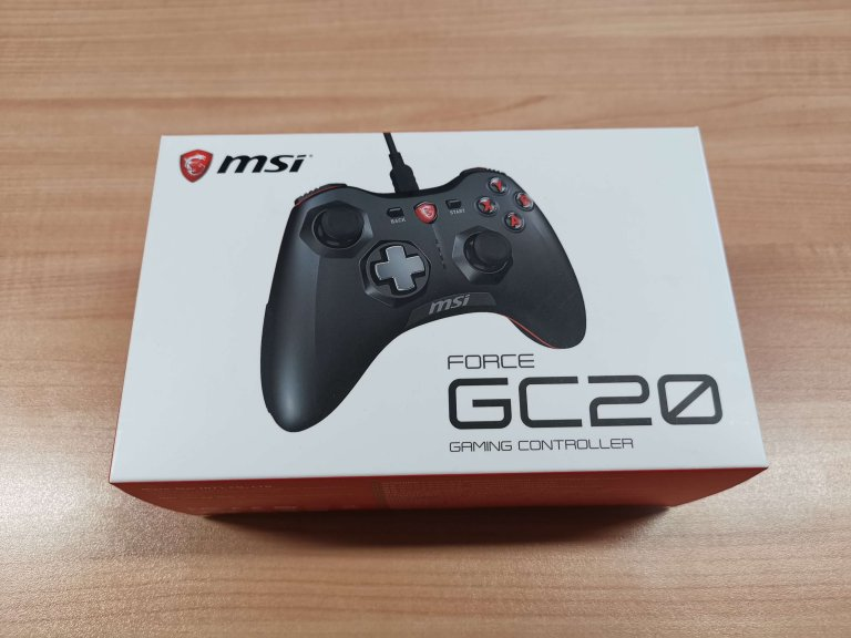 Recensione controller msi Force GC20
